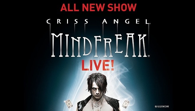 拉斯維加斯最新魔術秀 Criss Angel MindFreak at Luxor